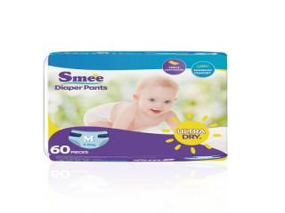 Tã Quần Trẻ Em Smee Cỡ M - 60 (Bé Từ 6-10Kg)