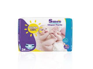 Tã Quần Trẻ Em Smee Cỡ S - 24 (Bé Từ 3-7Kg)